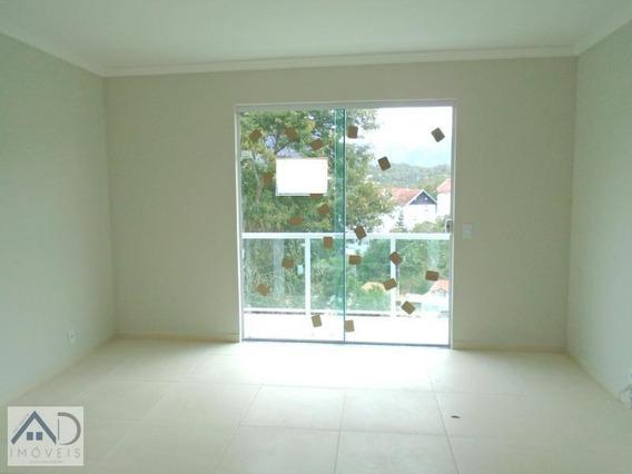 Apartamento Para Venda Em Nova Friburgo, Santa Elisa, 2 Dormitórios, 1 Suíte, 2 Banheiros, 1 Vaga - 108