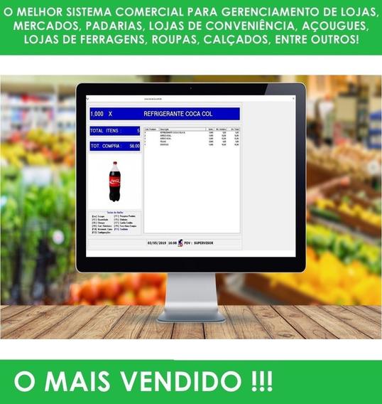 Sistema Para Controle Estoque Vendas Caixa E Pdv Mercadinho