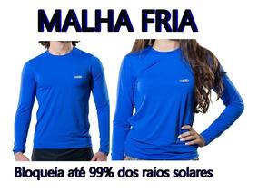 Camisa Térmica Proteção Solar Uv Fpu 50+ Unissex Praia Pisci