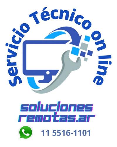 Imagen 1 de 10 de Servicio Técnico De Pc-notebook - Soluciones Remotas-on Line