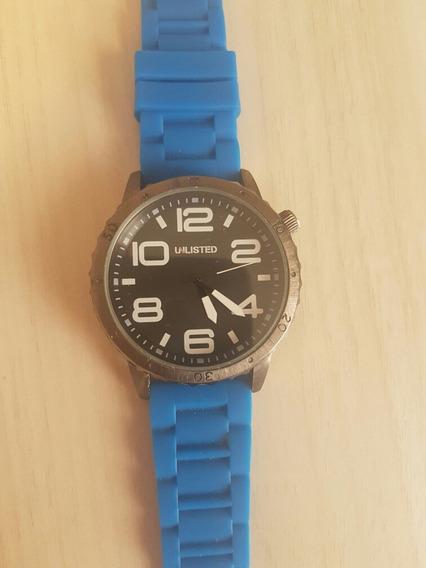 Relógio Unlisted Pulseira Azul Masculino