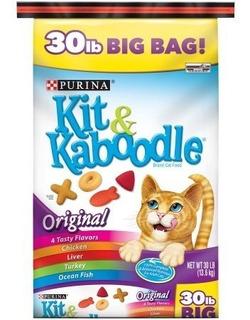 Alimento Para Gato Marca Purina Kit And Kaboodle 30 Lb Nueva