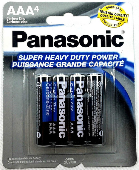 4 Blister De Baterias Aa Y/o Aaa Panasonic 16 Baterias