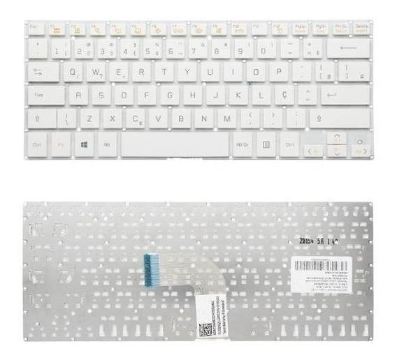Teclado Para Notebook Lg 14u360 14 U360 Br Sem Moldura
