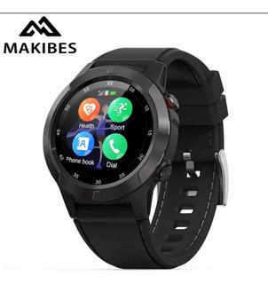 Makibes M4 Bússola Relógio Inteligente Multi-idioma Gps