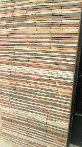 Tablilla Colonial Rustica Matizada Tipo Lápiz