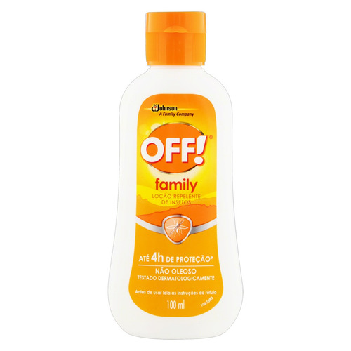 Repelente Loção Off! Family Squeeze 100ml