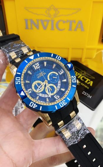 Relógio Invicta Pro Diver 23704 - Ouro 18k