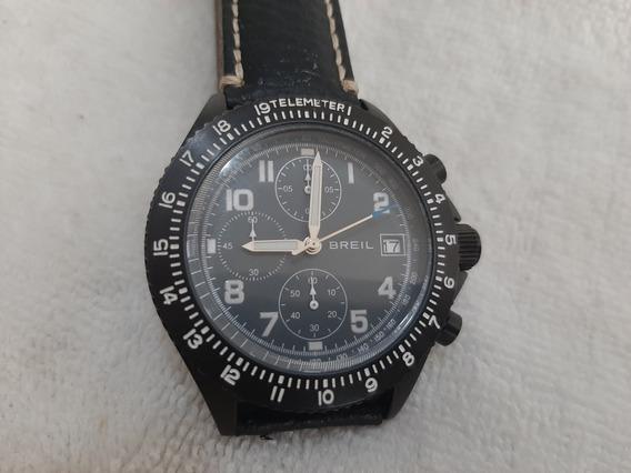 Briel Tw 1322 Maverick Black,crono,quartz,41 Mm,est. De Novo