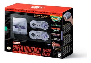 Super Nes Classic Edition (snes Mini) + 200 Games