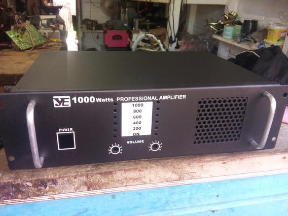 Gabinete P/ Amplificador De Potencia Vazio Novo
