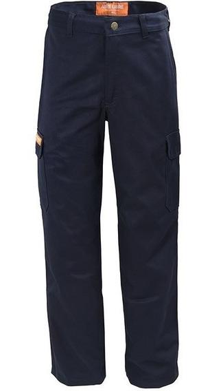 Pantalon De Trabajo Ombu Aire Libre Modelo Cargo