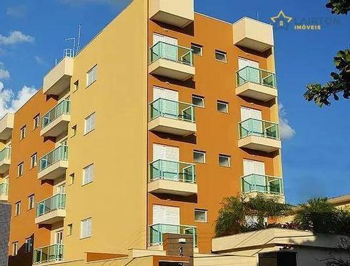 Apartamento Com 2 Dormitórios À Venda, 66 M² Por R$ 320.000,00 - Jardim Alvinópolis - Atibaia/sp - Ap0197