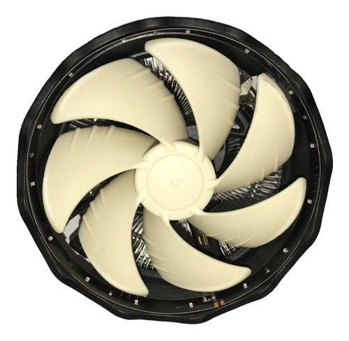 Fan Cooler Ventilador Cpu Procesador Gaming Led Rojo 3 Pin