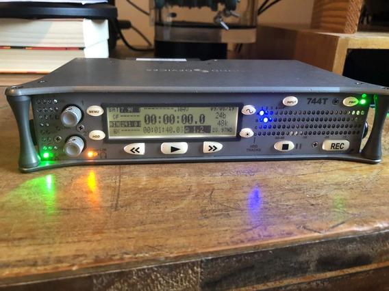 Gravador De Som - Sound Devices 744t