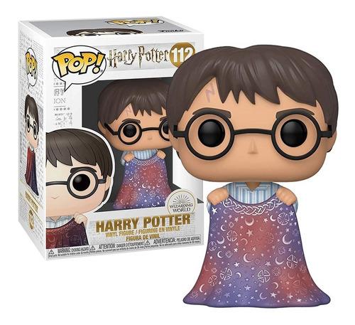 Imagem 1 de 6 de Boneco Funko Pop Harry Potter Capa Da Invisibilidade #112