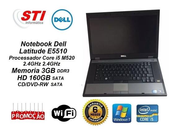 2 Notebook Dell Latitude E5510 Core I5 3gb Memoria Hd 160gb