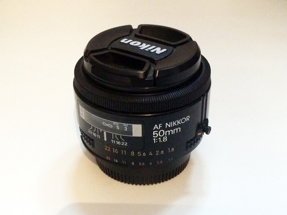Lente Nikon 50mm 1.8 Af Nikkor Japonesa