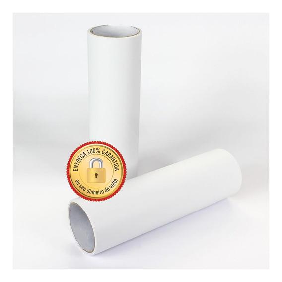 Papel Adesivo Contact Branco Brilho 45 Cm X 10 Metros