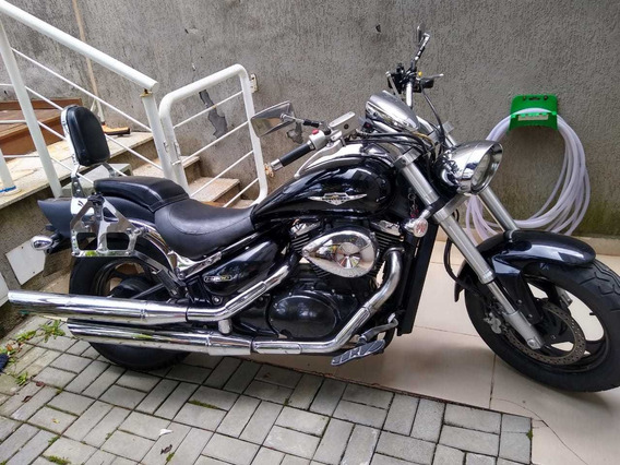 Suzuki Boulevard M800 Preta