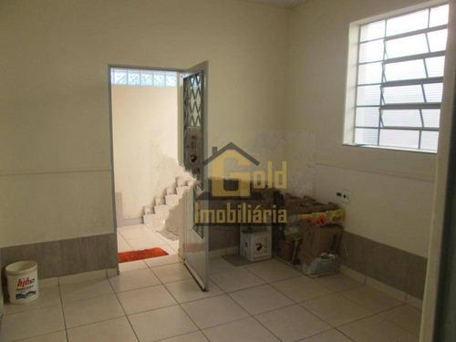 Casa Com 2 Dormitórios À Venda, 59 M² Por R$ 275.000 - Centro - Ribeirão Preto/sp - Ca1094