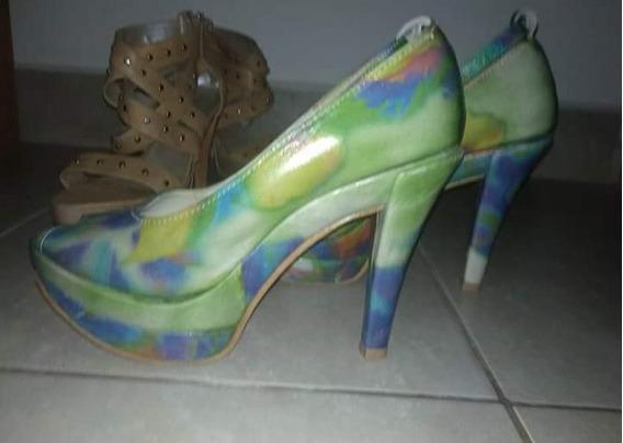 Zapatos Multi Colores