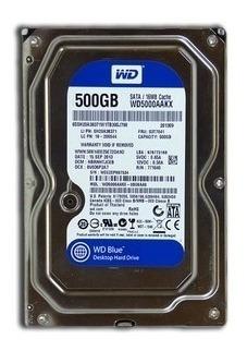 Acessórios Para Computador Hd 500 Gb Wester Digital Seminovo