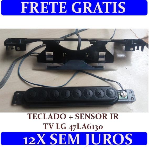 Teclado + Sensor Ir Tv Led Lg 47la6130-sb Ebt62443004