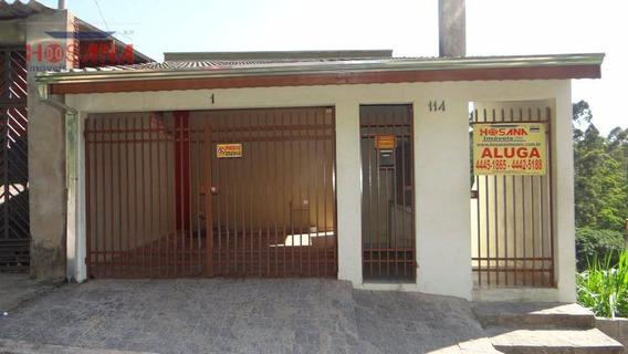 Casa Com 2 Dormitórios Para Alugar, 6500 M² Por R$ 800/mês - Jardim Marcelino - Caieiras/sp - Ca0412