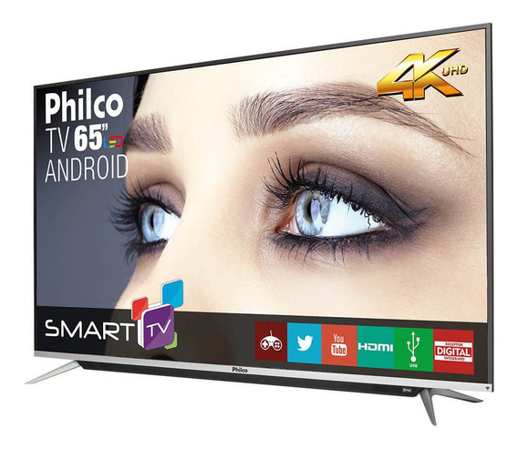 Smart Tv Philco 4k Android 65