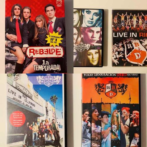 Dvd Rebeldes Rbd 1 Temporada E Shows