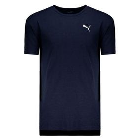 Camiseta Puma Energy Ss Tee Marinho Mescla