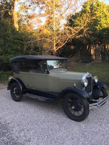 Ford A  1929 , Segundo Dueño, Todo Original, Papeles Ok