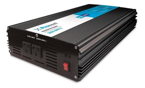Inversor De Tensión Onda Pura De 24 Vcc A 220 Vca 2000 Watts
