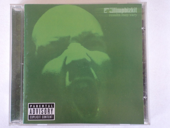 Cd-limpbizkit-results May Vary-rock Pop:original