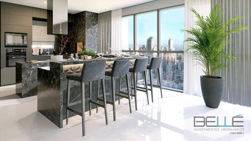 Imagem 1 de 16 de Apartamento Com 4 Dormitórios À Venda, 152 M² Por R$ 1.879.930,86 - Centro - Balneário Camboriú/sc - Ap0203