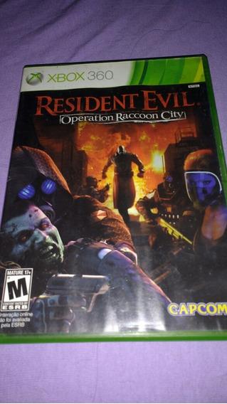 Jogo Original Resident Evil Raccoon City - Xbox 360 !!!