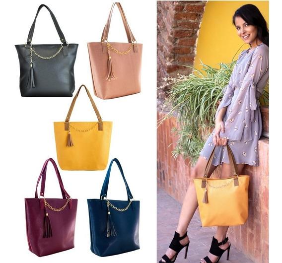 Paquete 5 Bolsas Dama #1 Bolsos Moda Y Mayoreo+envío+regalo