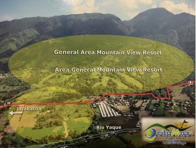 Extenso Terreno De 1108176 M2 En Jarabacoa, La Vega