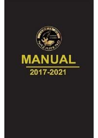 Manual Da Igreja Do Nazareno 2017-2021