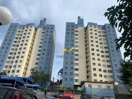 Imagem 1 de 28 de Apartamento Com 2 Dormitórios, 52 M² - Venda Por R$ 190.000,00 Ou Aluguel Por R$ 1.100,00/mês - Guaianazes - São Paulo/sp - Ap0080