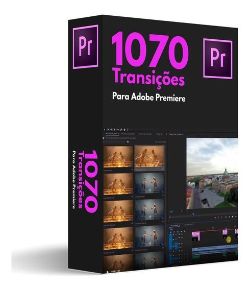 1070 Transições Pack Para Adobe Premiere