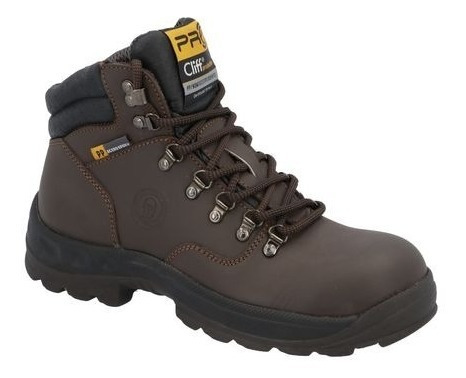 Bota Industrial Cliff Color Cafe Modelo 334