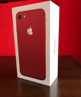 iPhone 7 Red 128 Gb Applecare+