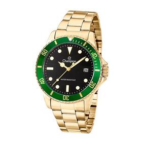Relógio Masculino Champion Dourado Ca31266m