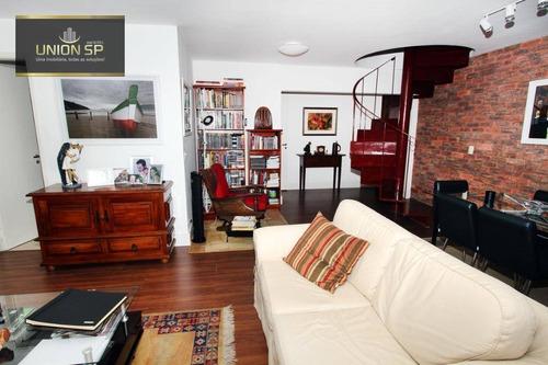 Imagem 1 de 8 de Cobertura Com 3 Dormitórios À Venda, 140 M² Por R$ 1.550.000,00 - Vila Olímpia - São Paulo/sp - Co1249
