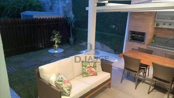 Casa Com 3 Dormitórios À Venda, 120 M² Por R$ 550.000,00 - Parque São Quirino - Campinas/sp - Ca14275