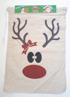 Saco Para Regalos De Navidad