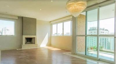 Apartamento Com 3 Dormitórios Para Alugar, 255 M² Direto Com Proprietário Por R$ 10.900,00/mês - Moema - São Paulo/sp - Ap12270