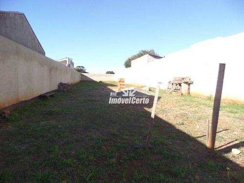 Imagem 1 de 7 de Terreno À Venda, 500 M² Por R$ 420.000,00 - Bairro Alto - Curitiba/pr - Te0106